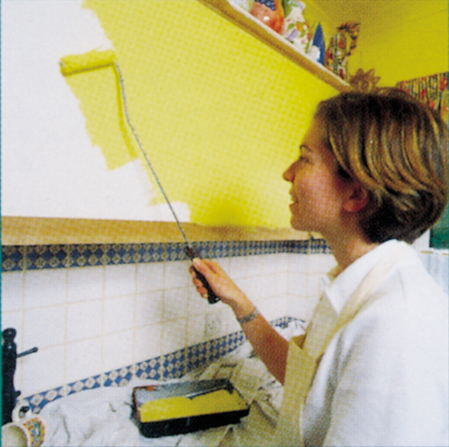 painting kitchen