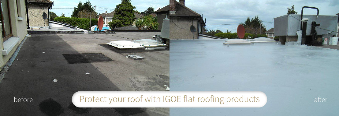 Refurbish Your Flat Roof With GacoPro Liquid Applied Waterproofing System