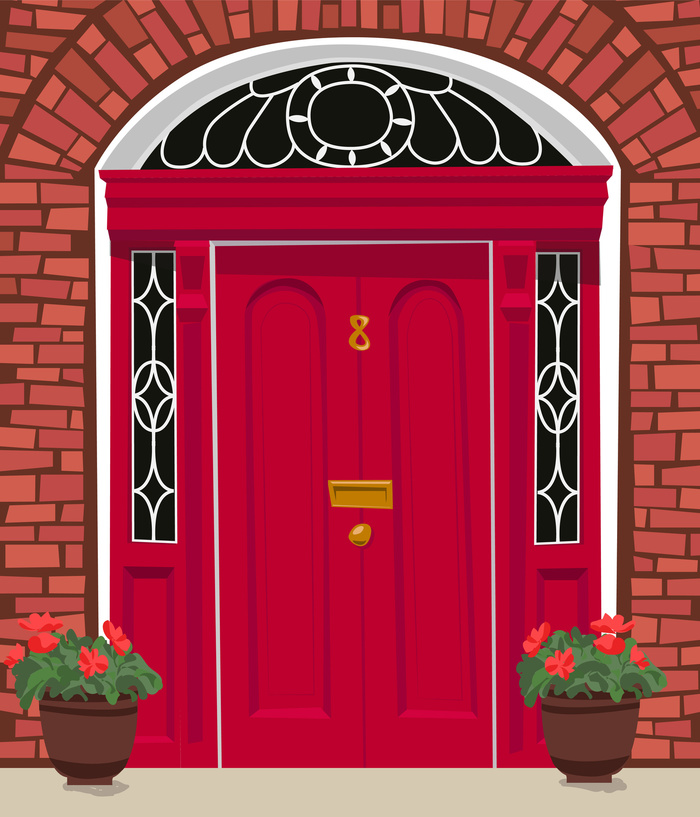 How To Paint Doors Without Brush Marks