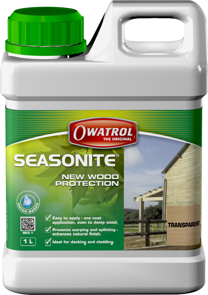 seasonite protects new wood
