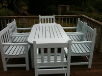 New Way to Transform Dirty Faded Garden Furniture.