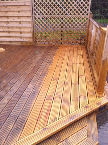 Decking, Cladding, Hardwood Garden Furniture, Fencing