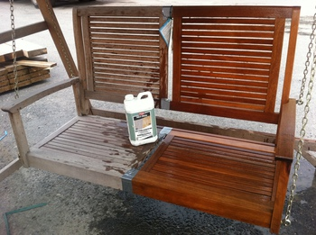 Reviving Grubby Looking Wooden Garden Furniture
