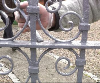 Rusty Railing Refurb