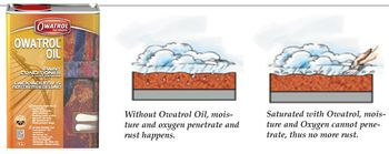 How Owatrol Oil Works on Rust