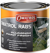 Aluminium RA85 Aluminium paint finish